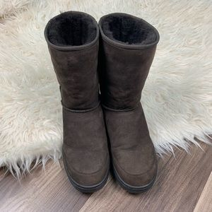 Ugg boots - ultimate short size w12 dark brown
